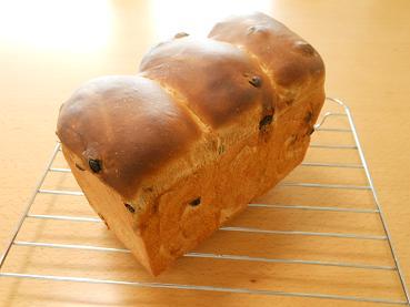201503 黒糖レーズン食パン(水)