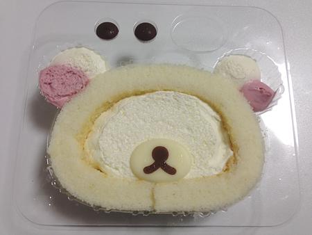 自分でつくるコリラックマロールケーキ