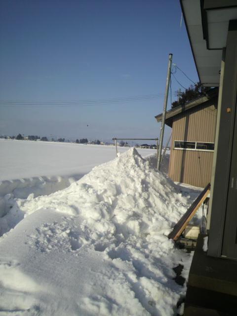 2014年12月28日雪下ろし3