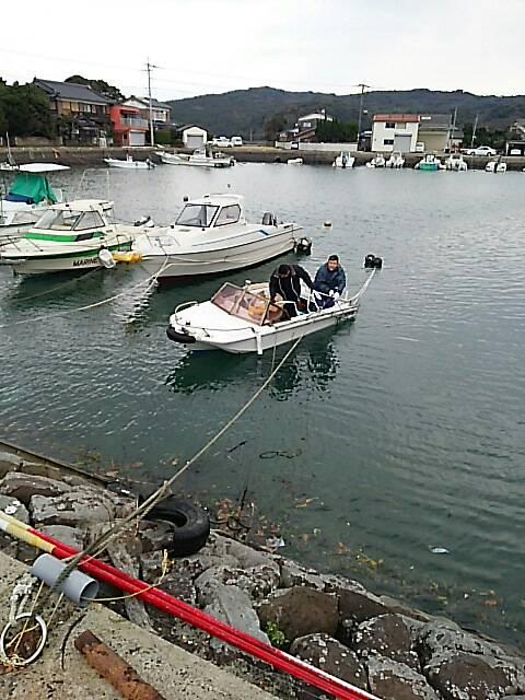 ボート撤収1