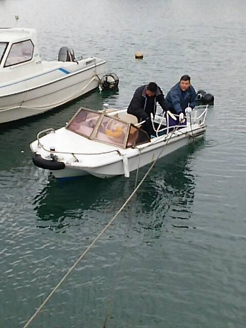 ボート撤収2