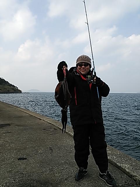 タツ岬エギング3