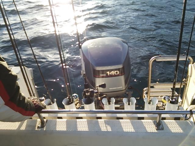 ボートの初釣り1