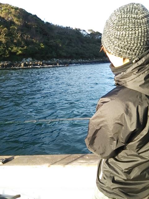 ボートの初釣り3