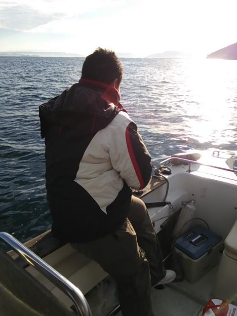 ボートの初釣り5