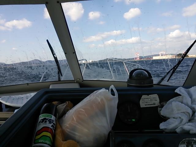 ボート掃除13