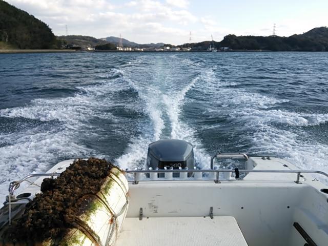ボート掃除14