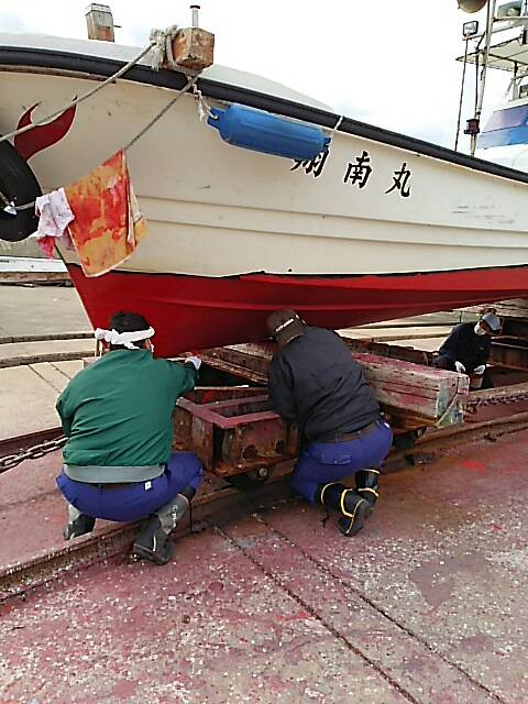 船底塗装13