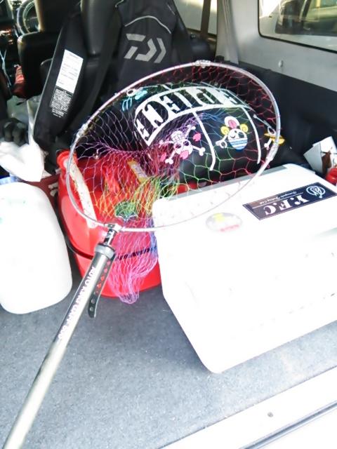 釣りの準備1