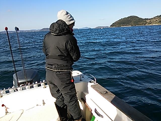 ボート釣り1