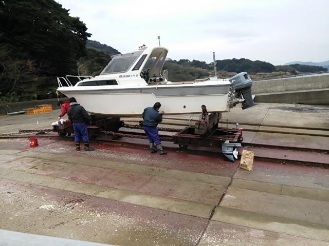 船底塗装8