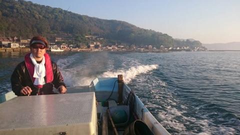 会長ボート釣り4