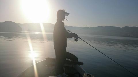 会長ボート釣り6