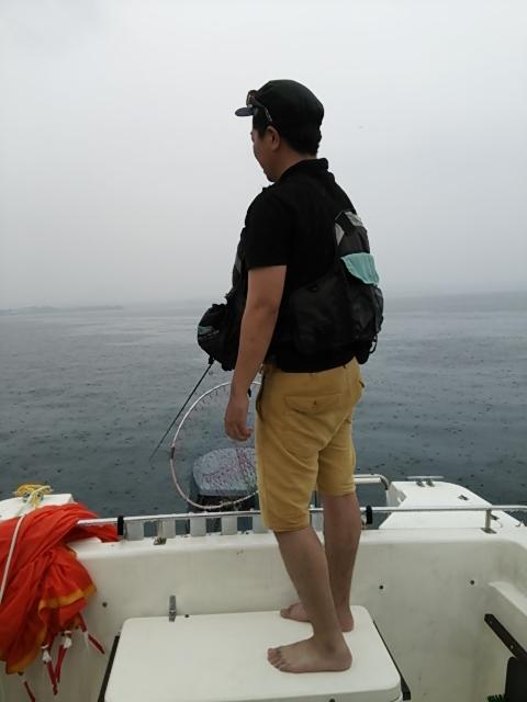ボート釣り9
