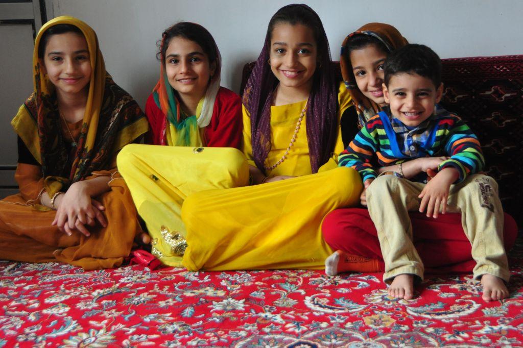 Kurd children