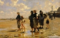 ジョン・シンガー・サージェント「カンカルで牡蠣をとる人々」