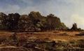シスレー 「ラ・セル=サン=クルーの栗並木」