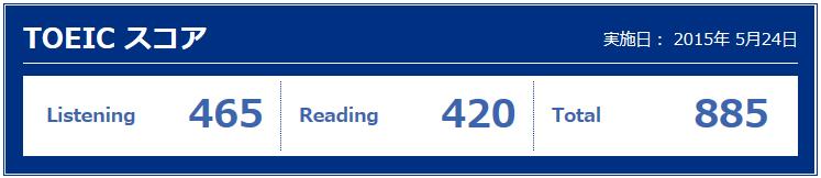 第200回toeic結果