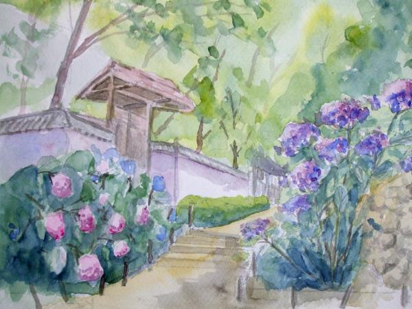 久安寺 階段