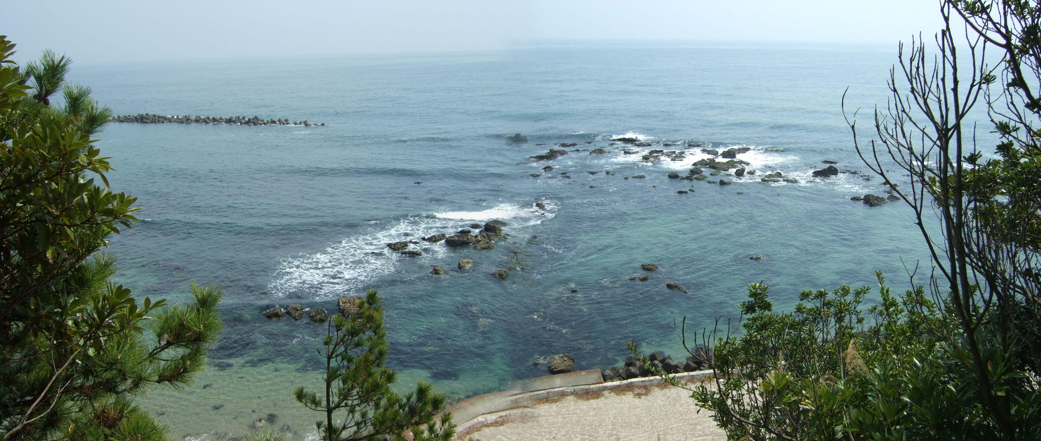 天妃山より太平洋