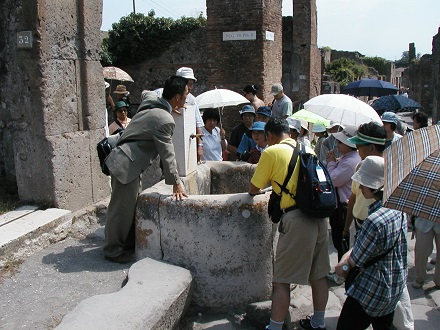 7月26日ぽんぺいの遺跡、水道これは凄い
