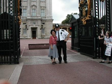 8月1日バッキンガム宮殿