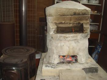 その後の移動式石窯