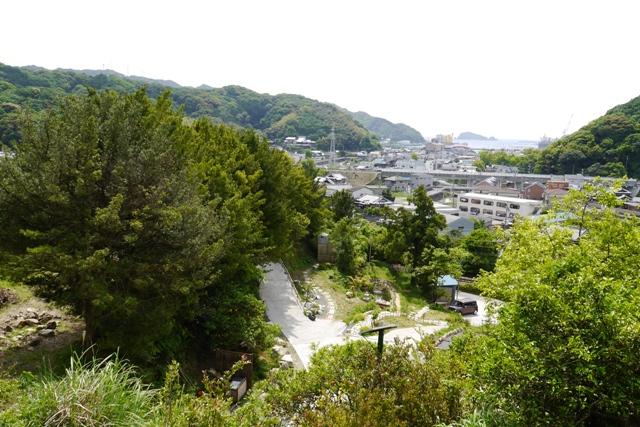 羽山神社からの景色