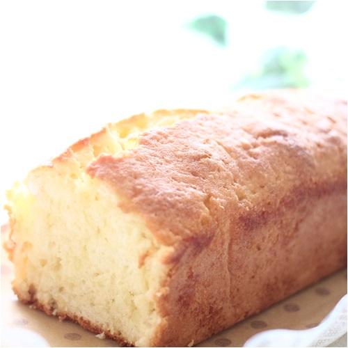 ケーキ作った