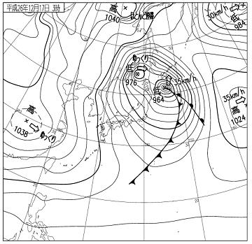 天気図 14121703