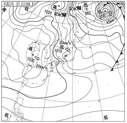 天気図 15010218