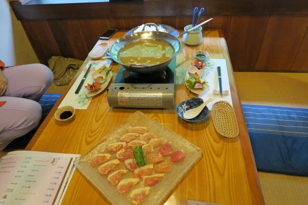 養浩荘夕食2