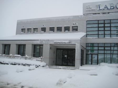 12月雪景色