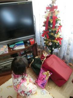 今年もツリーの下にプレゼント