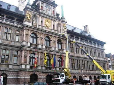 ベルギー市庁舎