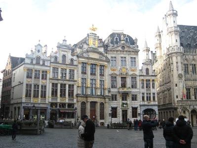 ブリュッセルのグランプラス南