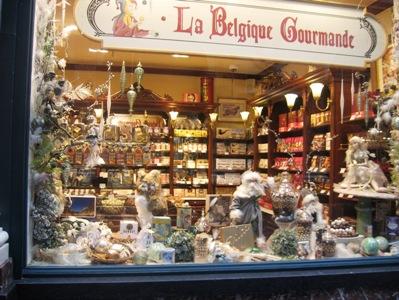 ブリュッセルのチョコレート店