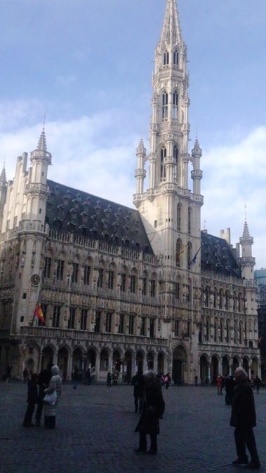 ブリュッセルの市庁舎