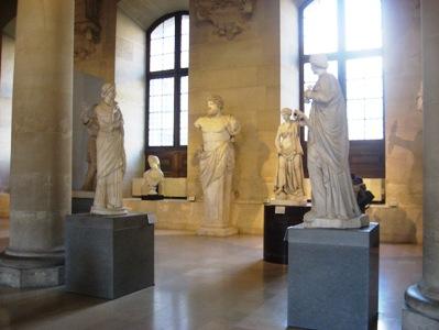 ルーブル美術館彫刻