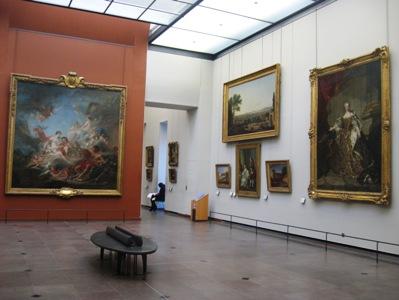 ルーブル美術館各部屋