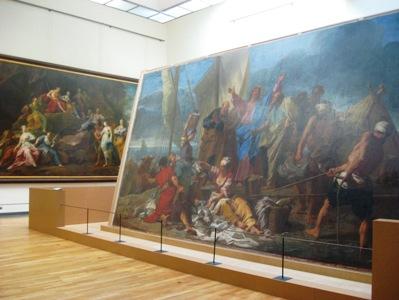 ルーブル美術館大型絵画