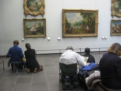 ルーブル美術館模写