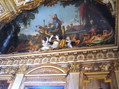 ルーブル美術館壁画