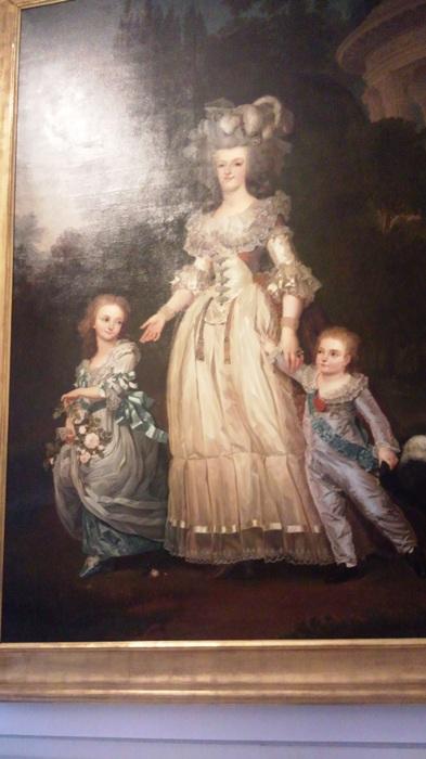 ヴェルサイユ宮アントワネット肖像画