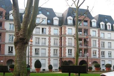 フランスのアパートメント