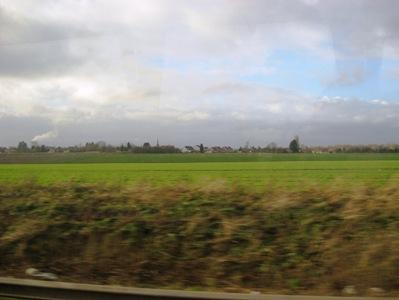 フランス田舎の風景