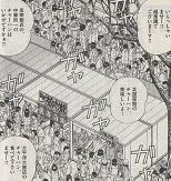 横浜中華街全体を巻き込んで行われたチャーハン対決は、大勢のお客さんでにぎわいます