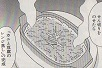 カニと豆腐のレンジ蒸し図