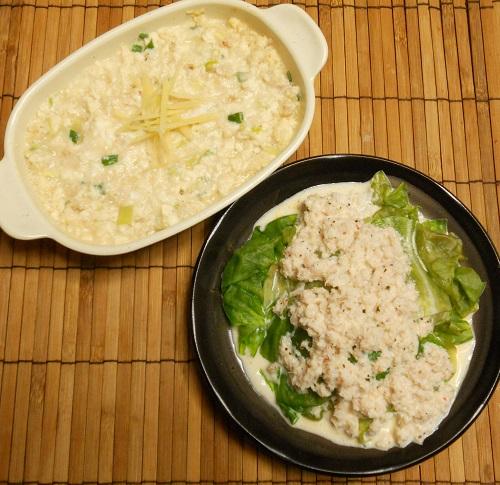 レタスのカニマヨがけ&カニと豆腐のレンジ蒸し11