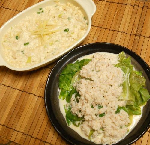 レタスのカニマヨがけ&カニと豆腐のレンジ蒸し12